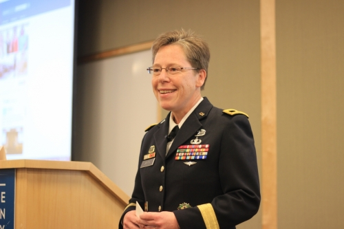 Brigidier General Tammy Smith