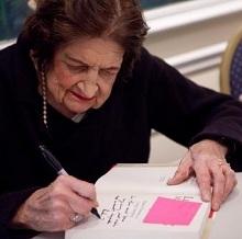 Helen Thomas book signing
