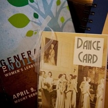 2010 program and dance card