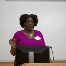 Panel Moderator Jonelle Henry